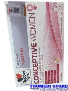 Conceptive for women – Hỗ trợ điều trị hiếm muộn, vô sinh cho nữ.