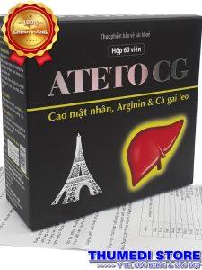 ATETO CG – Tăng cường chức năng gan, giải độc gan, bảo vệ gan…