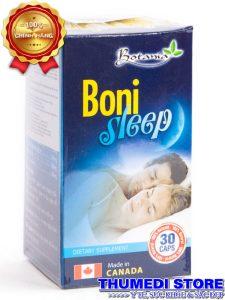 BoniSleep – Giúp an thần, giảm stress, mất ngủ, hỗ trợ giúp dễ ngủ, ngủ ngon giấc