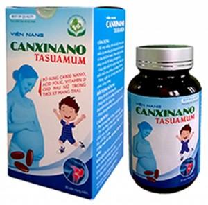 Canxinano Tasuamum – Bổ sung dưỡng chất cho thai nhi