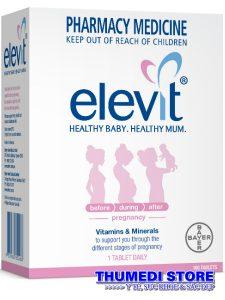 Elevit – Thuốc bổ cho phụ nữ trước, trong và sau khi mang thai