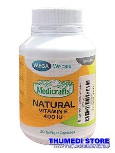 MEGA Natural Vitamin E 400 – Vitamin E thiên nhiên giúp duy trì vẻ đẹp của làn da…