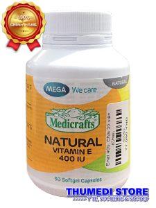Natural Vitamin E 400 – Vitamin E thiên nhiên giúp duy trì vẻ đẹp của làn da…