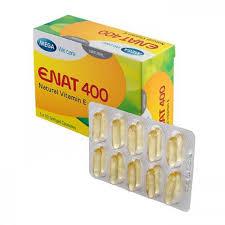 Enat 400 – Phòng và điều trị thiếu Vitamin E, duy trì vẽ đẹp làn da