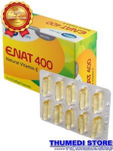 Enat 400 – Bổ sung Vitamin E, duy trì vẽ đẹp cho làn da, giữ ẩm cho da