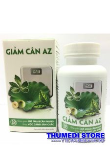 Giảm cân AZ – Giúp giảm cân hiệu quả và an toàn