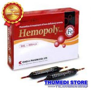 Hemopoly – Ngăn ngừa thiếu máu do thiếu sắt