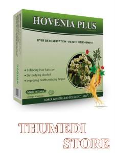 Hovenia Plus – Giúp giải độc gan, giải độc rượu bia, thanh lọc cơ thể