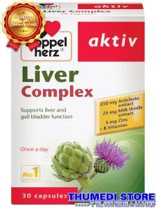 Liver Complex – Bổ gan, hỗ trợ chức năng gan, giải độc, lợi mật, hạ men gan
