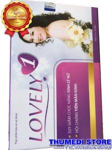 Lovely 1 – Hỗ trợ sinh lý nữ, cải thiện triệu chứng tiền mãn kinh…