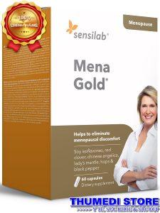 Mena Gold – Kích thích sản sinh nội tiết nữ, giảm bốc hỏa tiền mãn kinh