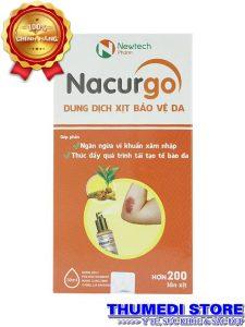 Nacurgo 30ml – Băng vết thương dạng xịt tạo màng sinh học