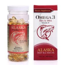 Hỗ trợ ngừa bệnh tim mạch, giúp sáng mắt. Alaska Omega 3 – Made in USA