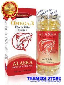 Omega-3 EPA & DHA – Hỗ trợ phòng ngừa bệnh tim mạch, giúp sáng mắt