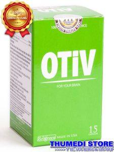 Otiv – Hỗ trợ điều trị mất ngủ, đau nữa đầu, suy giảm trí nhớ