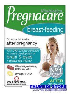 Pregnacare Breast feeding – Vitamin tổng hợp cho phụ nữ đang cho con bú