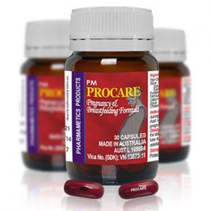 PM Procare – Thuốc dùng cho phụ nữ có thai và cho con bú