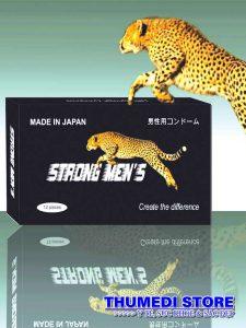 Strong Men's – Bao cao su gân gai, chống xuất tinh sớm, tăng cường khoái cảm