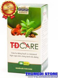 TĐ Care – Ổn định đường huyết, phòng ngừa biến chứng tiểu đương
