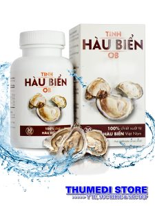 Tinh hàu biển OB – Tăng sức mạnh, khỏe tinh trùng, kéo dài thời gian