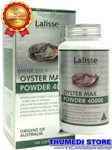 Oyster Max Powder 40000 – Tinh hàu Lalisse tăng cường chức năng sinh lý nam
