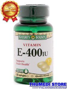Vitamin E 400IU – Chống lão hóa và đẹp da…