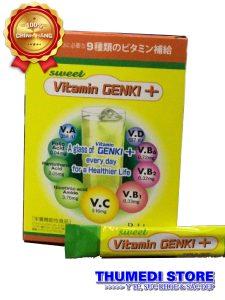 Vitamin GENKI + Trẻ biếng ăn chậm lớn, hay ốm cần tăng cường sức đề kháng, phục hồi sức khỏe