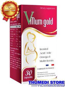 Vmum gold – Bổ sung dưỡng chất cần thiết cho bà bầu
