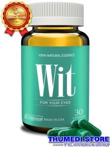 Wit – Tăng cường thị lực, giảm mờ, mỏi, khô, nhức mắt