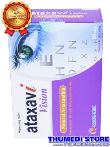 Vision Ataxavi – Thực phẩm bổ mắt, giúp mắt sáng khỏe