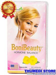 Boni Beauty – Viên uống cân bằng nội tiết nữ, cải thiện triệu chứng tiền mãn kinh