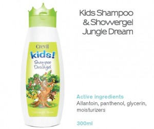 Crevil – Dầu tắm, gội cao cấp cho trẻ em từ Đức. Hương rừng