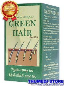 Green hair – Ngăn ngừa rụng tóc, kích thích mọc tóc