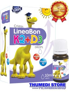 Lineabon K2+D3- Hỗ trợ phát triển chiều cao, giúp chống còi xương