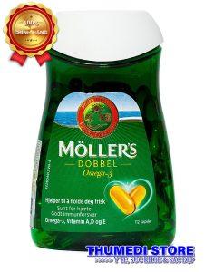 Moller's Dobbel – Thuốc bổ giàu Omega 3 tự nhiên tốt cho phụ nữ mang thai, người cao tuổi.
