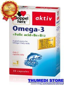 Omega 3 – Bổ sung dưỡng chất cho não, mắt, hỗ trợ tim mạch và thị lực