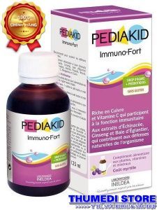 Pediakid Immuno – Fortifiant: Tăng cường khả năng miễn dịch