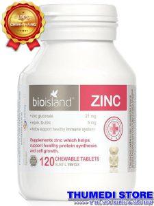 bioisland ZINC – Bổ sung kẽm cho bé từ 1 tuổi trở lên, giúp tăng cường miễn dịch