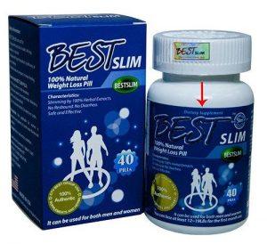 Best slim New – Giảm cân, hỗ trợ cảm giác no, tiêu hóa mỡ thừa