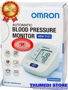 Máy đo huyết áp OMRON HEM-7121 Thương hiệu Nhất Bản