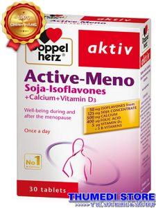 Active Meno – Giảm nhanh rối loạn tiền mãn kinh, cải thiện chức năng sinh lý nữ