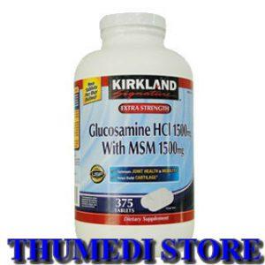 Giúp phục hồi và tái tạo sụn khớp – Glucosamine HCL 1500mg With MSM 1500mg
