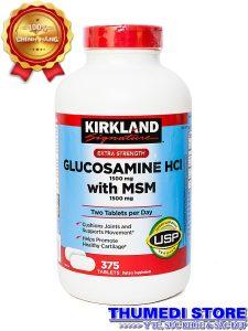 Glucosamine HCL 1500mg With MSM 1500mg – Giúp phục hồi và tái tạo sụn khớp