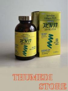 Bổ sung dưỡng chất, làm đẹp da, chống lão hóa. Tảo xoắn Spirulina Collagen Plus