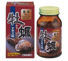 ORIHIRO New Oyster Extract Tablets (Chiết xuất Hàu tươi) – Tăng cường sinh lý nam, giúp tăng số lượng và cải thiện chất lượng tinh trùng