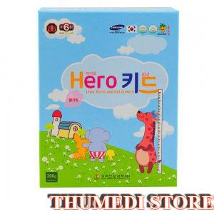 Hero Kid – Giúp ăn ngon, tăng chiều cao hiệu quả, giảm nóng trong, phục hồi sức khỏe
