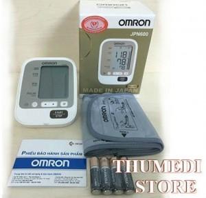 Máy đo huyết áp OMRON JPN600 – Made in Japan, Chính hãng Nhật Bản