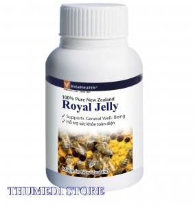 Bồi dưỡng, tăng cường sinh lực, chống lão hóa. VitaHealth Royal Jelly – Made in New Zealand