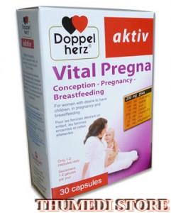 Vital Pregna. Dinh dưỡng cho bà bầu – Giải pháp dinh dưỡng lý tưởng
