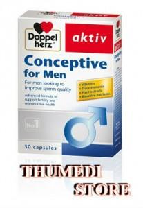 Conceptive for Men – Hỗ trợ điều trị hiếm muộn cho nam